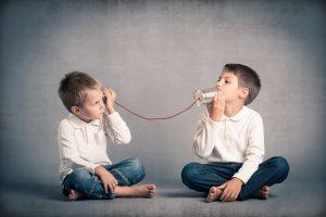 ילדים מתקשרים